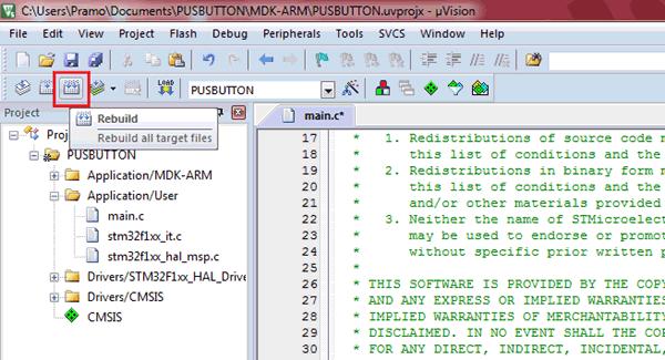 Pemrograman STM32 Menggunakan Keil uVision & STM32CubeMX